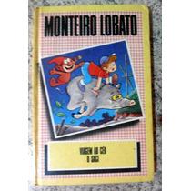 Livro Viagem Ao Céu E O Saci - Monteiro Lobato