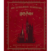 Livro Os Lugares Mágicos Dos Filmes De Harry Potter - Cinema