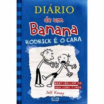 Kit 2 Livros Diario De Um Banana - Livros 2 (port) E 6 (ing)