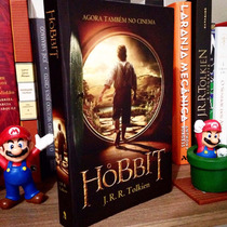 Livro O Hobbit Edição Especial Capa Do Filme - Perfeito!