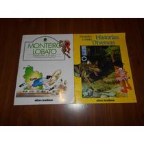 Pedrinho E O Sací/histórias Divertidas - 2 Livros M. Lobato