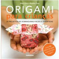 Origami Para Crianças Livro Dobradura Infantil Artes