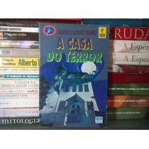 Livro A Casa Do Terror Álvaro Cardoso Gomes Editora Moderna