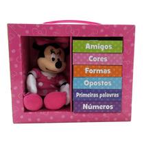 Livro Aprenda Com Minnie Disney Editora Melhoramentos