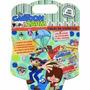 Maleta Cartoon Zaum 8 Livros Colorir Disney + Cd