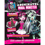 Livro Abominável Moda Monster High