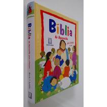 Livro Bíblia De Aparecida Para Crianças Infantil Capa Dura