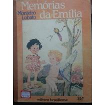 Livro: Lobato, Monteiro - Memórias De Emília - Frete Grátis