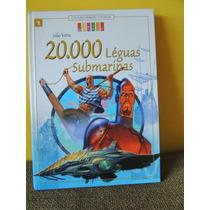 Livro 20.000 Léguas Submarinas - Júlio Verne