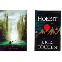 Livro O Senhor Dos Anéis Volume Único + Hobbit Capa Dura