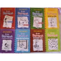 Box Livro Diário De Um Banana Vol 1 Ao 8 Brochura