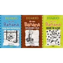 Diario De Um Banana - Volumes 6, 7 E 8 Capa Brochura