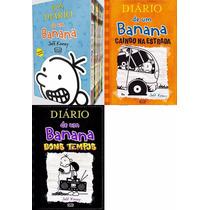 Box Diário De Um Banana - Jeff Kinney - 10 Livros - Lacrado