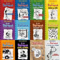 Diario De Um Banana Do 1 Ao 10 + 2 Livros - Col.completa