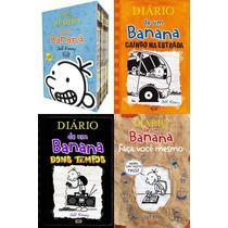 Box Diário De Um Banana (exceto Vol 2) + 3 Livros