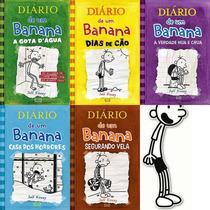 Diario De Um Banana - Vol 3 Ao 7 + O Vol 10- Capa Dura