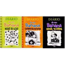 Diario De Um Banana -volumes 8, 9 E 10 Capa Dura-jeff Kenney