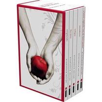 Box Saga Crepúsculo Coleção 5 Livros +1 Livro De Brinde
