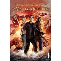 Livro Mar De Monstros, O - Capa Do Filme
