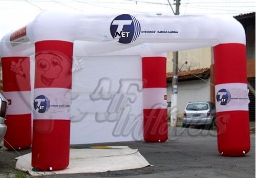 Infláveis Promocionais, Balão, Tenda, Portal, Cabine, Túnel