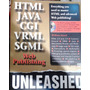 Livro + Cd Original Html Java Cgi Vrml Sgml Web Publising U