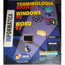 Terminologia Básica Windows 95 Word 97 - Mário Gomes Da Silv