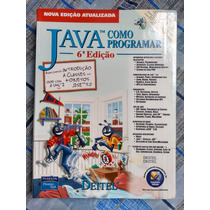 Livro Java - Como Programar (6ª Edição) - Deitel