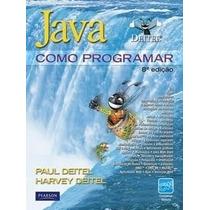 Java - Como Programar - 8ª Edição 2010 Capa Dura Novíssimo