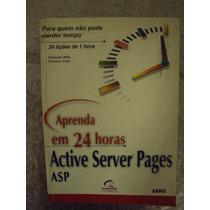 Aprenda Em 24 Lições De 1 Hora Active Server Pages - Christo