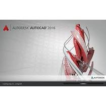 Autodesk Autocad 2016 32-64 Bit+tradução Pt-br Em Dvd