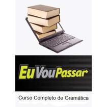 Curso De Gramática Em Dvd