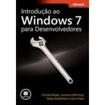 Livro Introd Ao Windows 7 Para Desenvolvedores