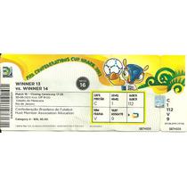 Ingresso Copa Confederações 2013 Brasil X Espanha Final
