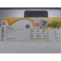 Ingresso Copa Das Confederações 2013 Itália X Japão Especial