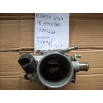 Tbi Corpo De Borboleta Corsa Wind 1.0 8v Mpfi96...original