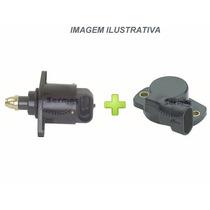 Kit Marcha Lenta + Sensor Tps Gol Parati Saveiro Santana Spi
