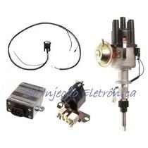 Kit Ignição Eletrônica Opala Caravan A10 C10 Veraneio 6 Cil.