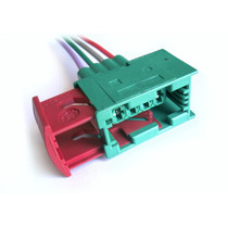 Soquete Plug Conector Farol Vectra Millenium 4 Vias Gaveta