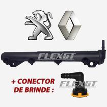 Flauta Bico Injetor Peugeot 206 Clio 1.0 16v - 7701049881