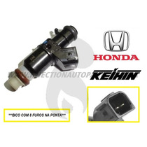 Kit 4 Bico Injetor Honda Civic 1.7 8 Furo Original