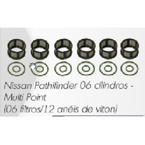 Kit Bico Injetor Pathfinder Multi Point Filtro Anel Viton