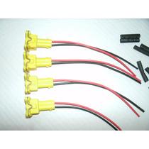 Conector Plug Bicos Injetores Corsa Astra Meriva Vectra 4pç