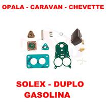 Kit Reparo Carburador Opala/caravan/chevette Gas Solex Duplo