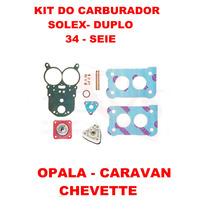 Kit Carburador Opala/caravan/chevette Solex Duplo
