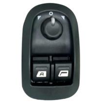 Interruptor Vidro Elétrico Peugeot 206 Comando Do Retrovisor