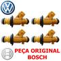 04 Bico Golf Polo Motor 1.6 032906031k 0280156391 Jogo Bosch