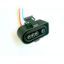 Plug Conector 4 Vias Sonda Lambda Gol Kombi Passat Audi