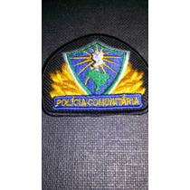Distintivo Bordado Polícia Comunitária Multiplicador