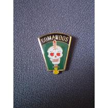 Distintivo Dourado Comandos (ações/operações De Comandos)