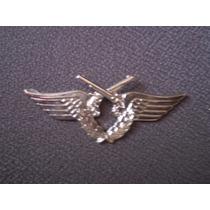 Distintivo Prateado Polícia Do Exército